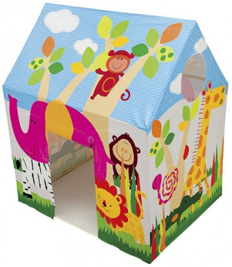 Intex Speeltent Jungle Fun Cottage 95 x 107 x 75 cm
