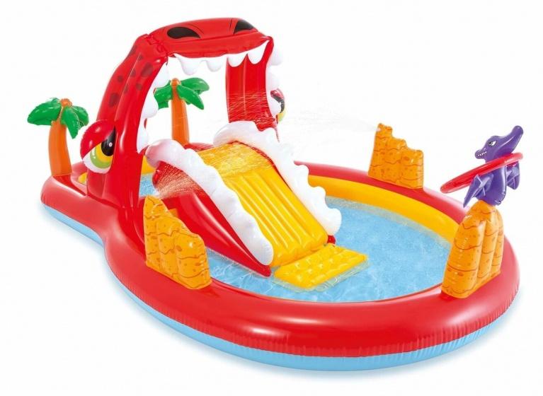 Intex speelzwembad Happy Dino Play Center 259 x 165 x 107 cm