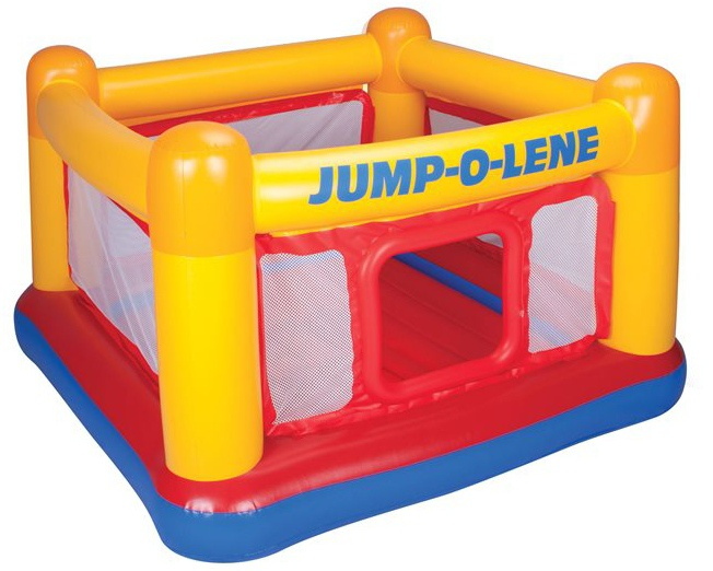 Intex Sprinkussen Playhouse Jump o lene 174 x 174 x 112 cm