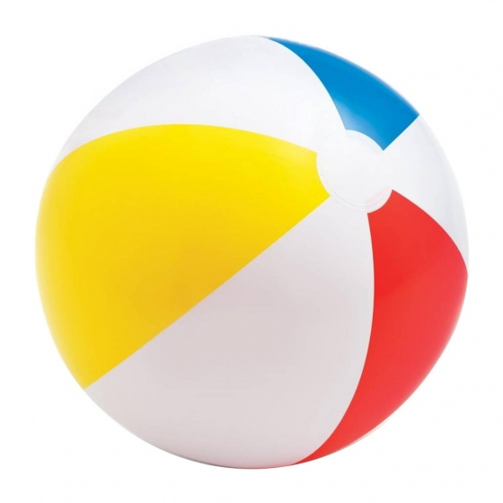 Intex beach ball Glossy 51 cm white
