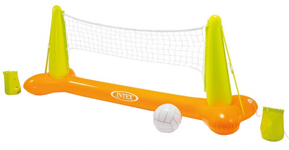 Intex Volleybalset groen/oranje 239 x 64 x 91 cm