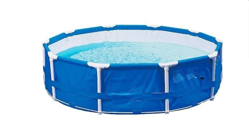 Stalen frame zwembad kopen online internetwinkel for Zwembad frame