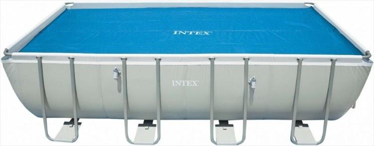 Intex Zwembad Solar Cover blauw 716 x 346 cm