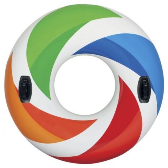 Intex zwemband Whirl Tube multicolor 122 cm