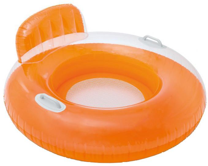 Intex Zwembanden Candy Lounge 102 cm oranje