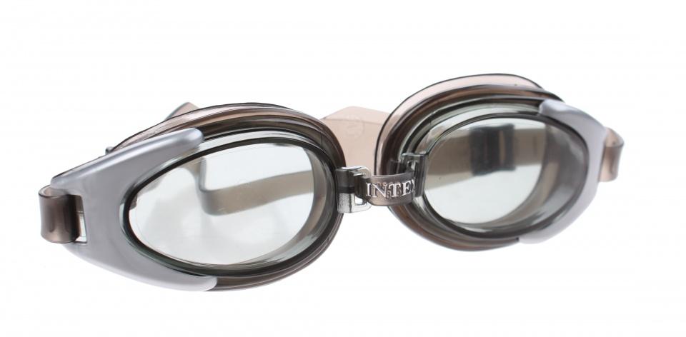 Intex zwembril Watersport Goggles unisex zilver