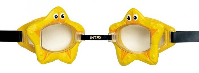 Intex Zwembril zeester geel