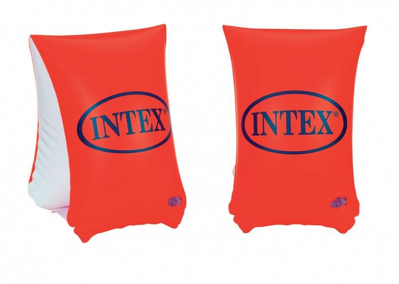 Intex zwemvleugels Deluxe oranje 6 12 jaar
