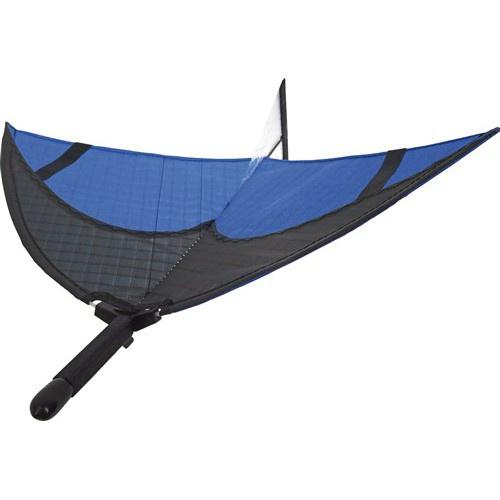 Invento Airglider junior 35 x 32 cm fiberglas zwart/blauw