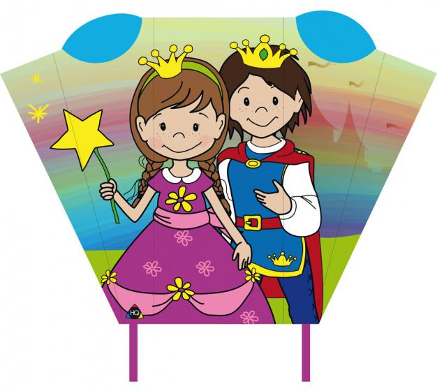 Invento vlieger Magic Kite Pocket Sled prins & prinses 2 delig