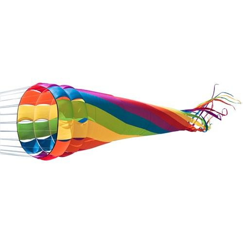 Invento vlieger Wind Turbine Rainbow nylon 86 x 500 cm