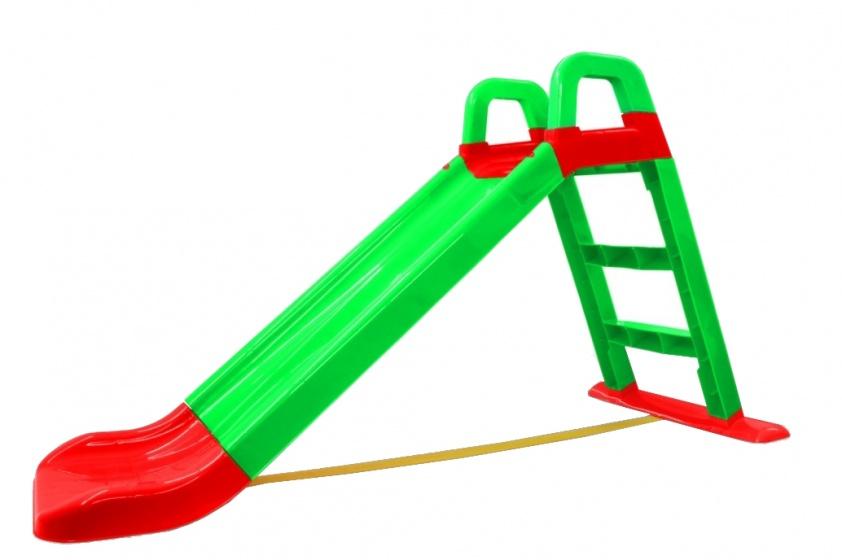 JAMARA glijbaan 145 x 59 x 79 cm groen/rood