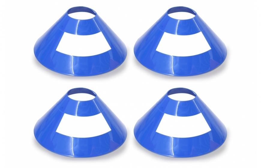 Jamara markeringspionnen Traffic 17 x 7 cm blauw 4 stuks