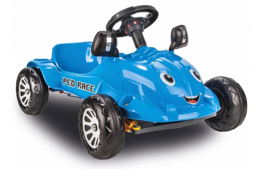 JAMARA Ped Race trapauto blauw junior 81 cm