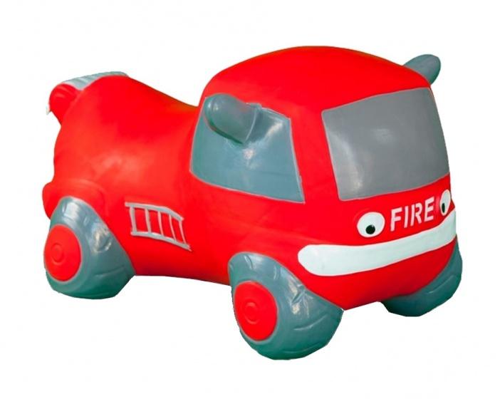 JAMARA skippybal brandweertruck 55 cm rood