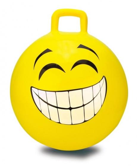 JAMARA skippybal Smile 45 cm geel