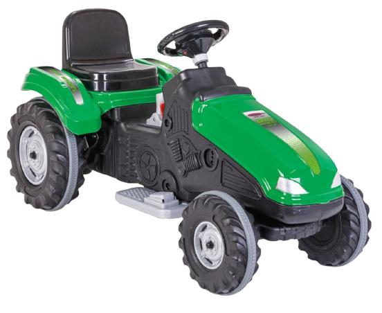 JAMARA tractor Ride On Big Wheel 12 V junior 114 x 53 cm groen