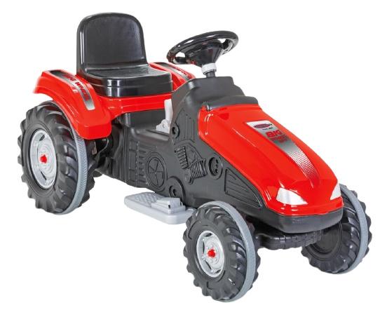 JAMARA tractor Ride On Big Wheel 12 V junior 114 x 53 cm rood