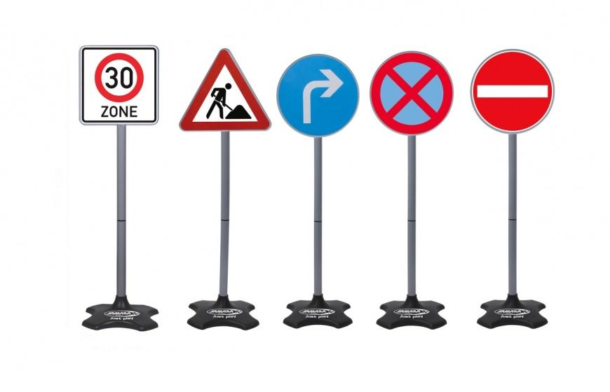 JAMARA verkeersborden groot 5 delig 81 cm
