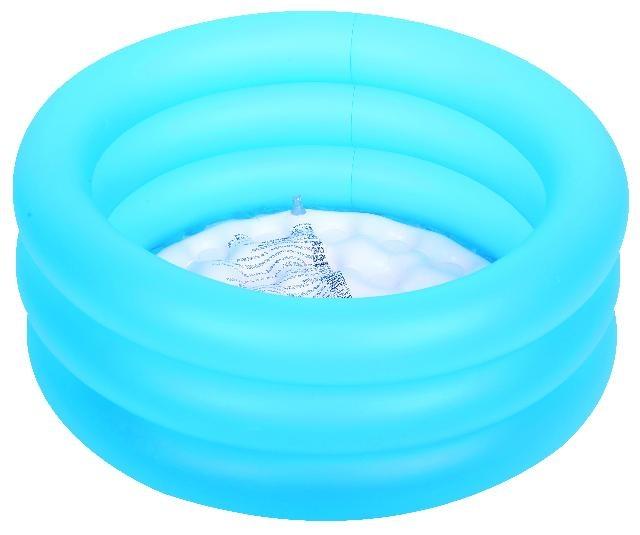 Jilong Babybadje rond soft bottom 77 x 23 cm blauw