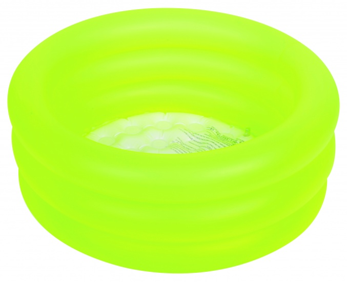 Jilong Babybadje rond soft bottom 77 x 23 cm geel