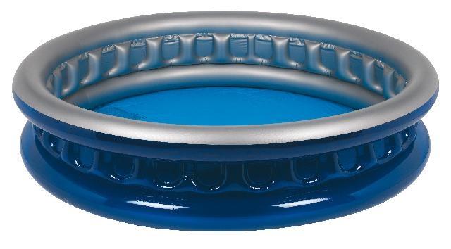 Jilong Kinderzwembad rond soft side 175 x 35 cm donkerblauw