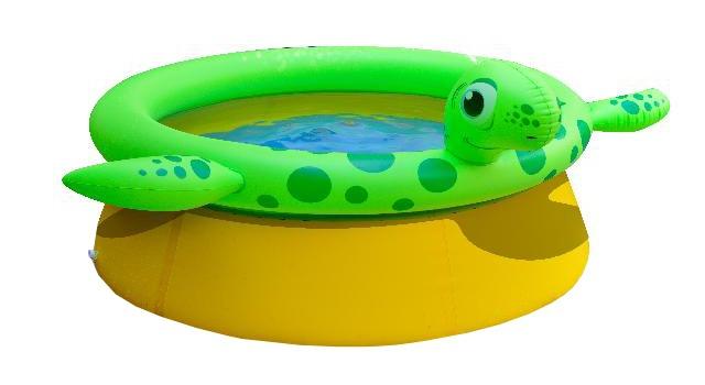 Jilong Kinderzwembad Spraypool Marin schildpad 175 x 70 cm