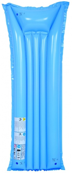 Jilong Luchtbed Economy blauw 183 x 75 cm