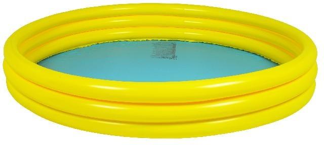 Jilong Kinderzwembad rond basic 157 x 25 cm geel