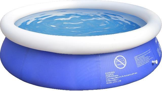 Jilong Opblaaszwembad Marin set rond blauw 240 x 63 cm
