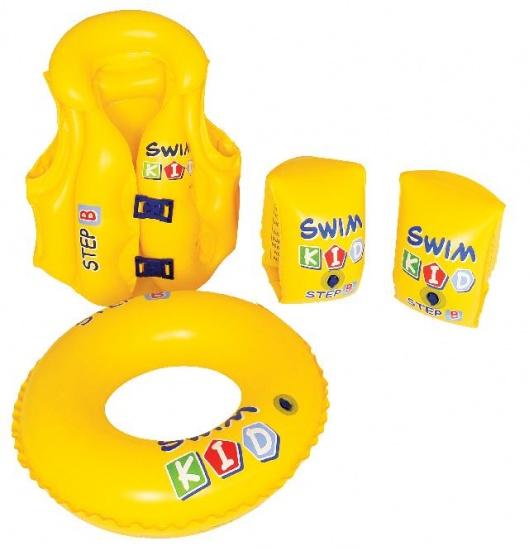 Jilong Zwem / oefenset 3 6 jaar geel