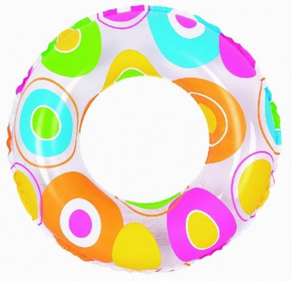 Jilong Zwemband Cirkel 60 cm transparant/gekleurd
