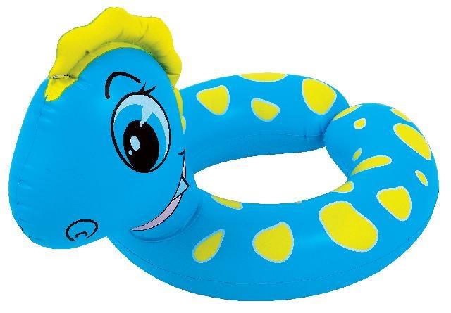 Jilong Zwemband dino split 61 x 53 cm blauw