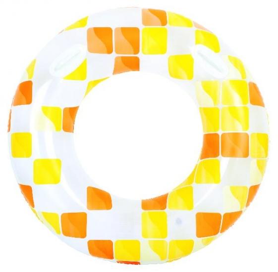 Jilong Zwemband mozaïek 120 cm geel/wit