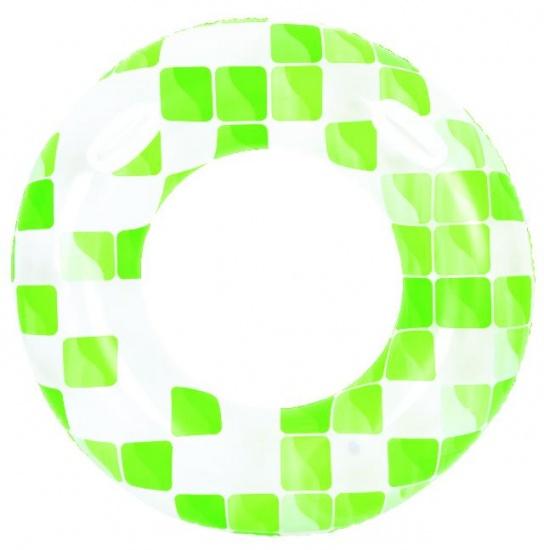 Jilong Zwemband mozaïek 120 cm groen/wit