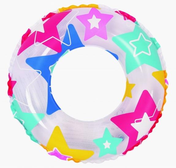 Jilong Zwemband Ster 60 cm transparant/gekleurd
