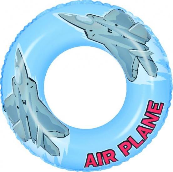 Jilong Zwemband vliegtuig 76 cm blauw