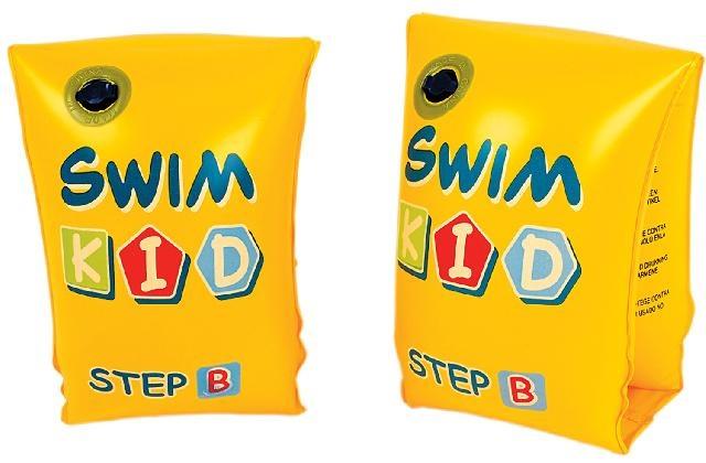 Jilong Zwemvleugeltjes B 3 6 jaar 25 x 15 cm geel