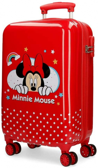 Disney Minnie Mouse koffer 32 liter rood