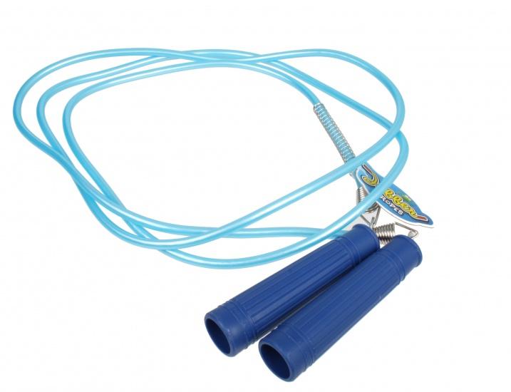 Jobber Springtouw Deluxe 230 cm 9 mm blauw