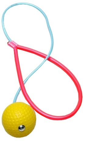 Jobber Springtouw Rope ole swing geel
