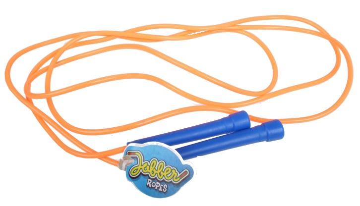 Jobber Springtouw speedrope 270 cm x 4.5 mm oranje
