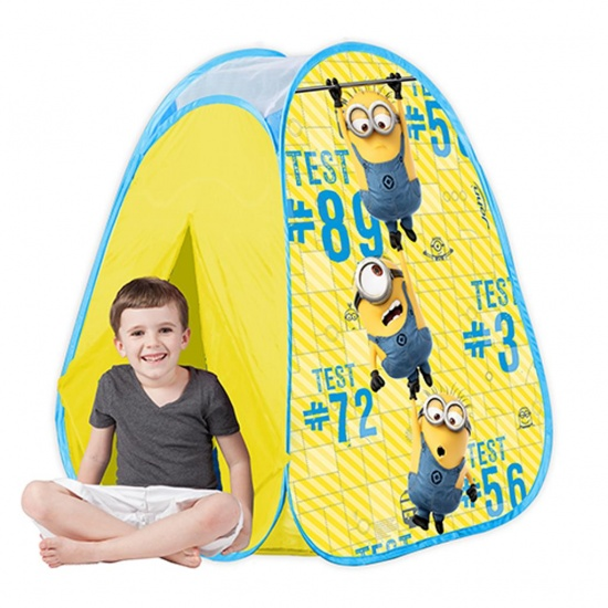 John Minions pop up speeltent 75 x 75 x 90 cm