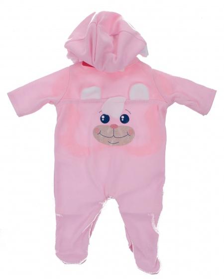 Johntoy Baby Rose babypoppenkleren konijn 40 45 cm