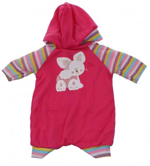 Johntoy Baby Rose babypoppenkleren streep 40 45 cm