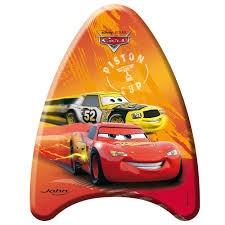 Johntoy Bodyboard Cars 42 cm oranje