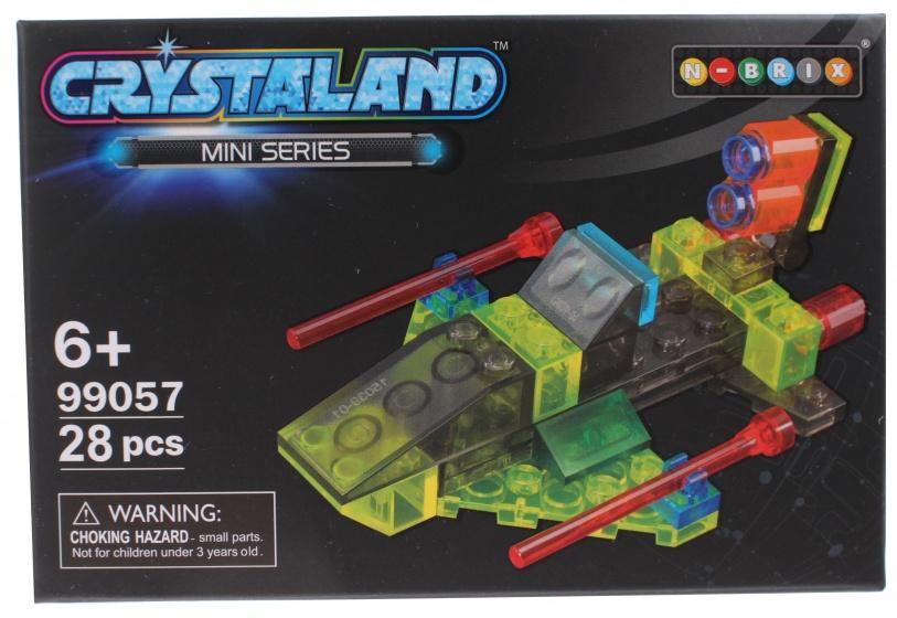 Johntoy bouwpakket Crystaland miniserie 30 delig 99057