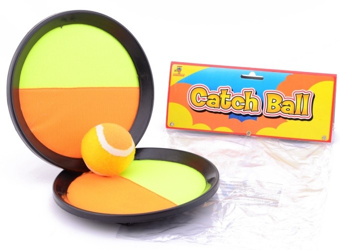 Johntoy Catchball Spel Geel