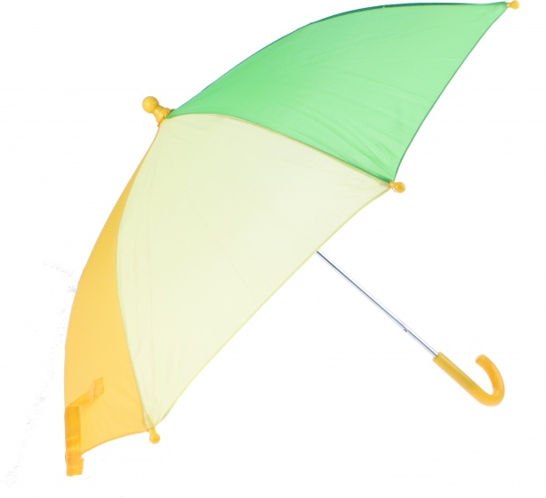 Johntoy kinderparaplu geel 70 cm