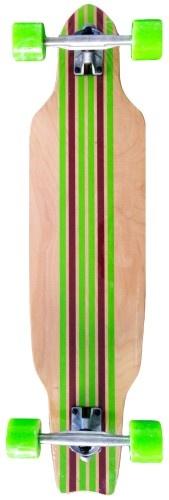 Johntoy Longboard Cruiser PIN Bruin 91 cm